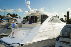 John Lilla at a Regal Boats event 2012